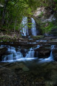 Lower Lick Brook Falls