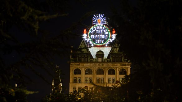 Scranton, the Electric City Sign